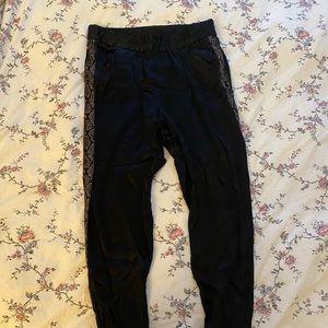 Zara lux jogger pants